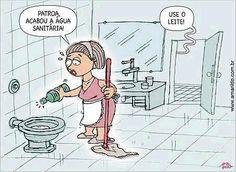 Brasil-Leite compensado-2013-Charge-Use o leite-Charge de Amarildo