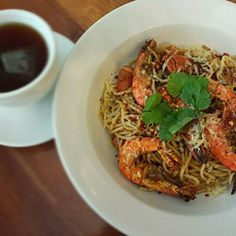 Looks so nice! Thank you for your follow! - 149件のもぐもぐ - spicy prawn aglio olio by Yvonne C.
