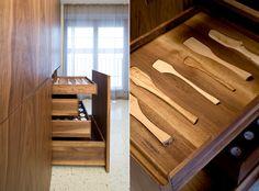 Holtzrausch - interior of kitchen drawers