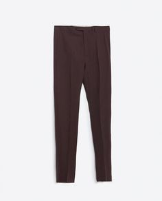 Image 6 of TROUSERS WITH SLANTED POCKET from Zara