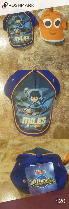 2 for 1 Disney Toddler Baseball Caps Item is in good condition no visable signs of wear and tear. Disney Accessories Hats