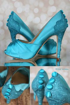 8a837906d18f Loving these something blue wedding shoes by Ellie Wren  You can find them  in our