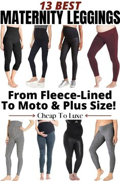 From cheap to luxe, here are the BEST maternity leggings for any budget! Rock your workout or style a daytime look. Plus, which are best for postpartum recovery too. #Maternity #MaternityClothes #Pregnancy #HealthyPregnancy #FitPregnancy Best Maternity Leggings, Maternity Workout Clothes, Pregnancy Workout, Pumping Schedule, Healthy Pregnancy Tips, Newborn Schedule, Pumping At Work, Breastfeeding Diet, Postpartum Recovery