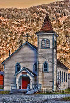 Old church in Agassiz, B.C. along Lougheed Hwy. www.rharrisphotos.com