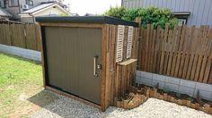 物置DIYでお庭の雰囲気をガラリと変えよう!簡単リメイク方法を大公開!|LIMIA (リミア) Garden Furniture, Diy Furniture, Outdoor Furniture, Outdoor Decor, Garage Shed, House Rooms, Tiny House, Gazebo, Diy And Crafts