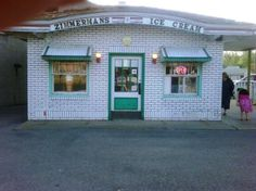 Zimmerman's Ice Cream, Evans City, PA.  A place to see lots of Evans City residence on a warm evening. Oh, so good.