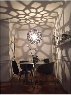 """I thought the most beautiful thing in the world must be shadow."" ― Sylvia Plath    The Coral pendant light / bamboo plywood / David Trubridge Design. Click image for where to buy."