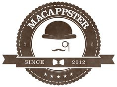 The last revision for the logo of my upcoming website (www.macappster.com)