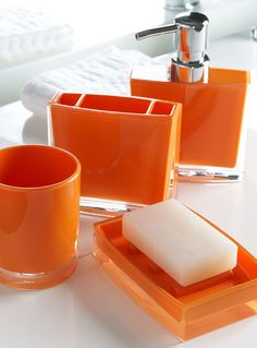 Charmant Google Image Result For  Http://www.betterbathroomshop.co.uk/images/colour1001477big | For The  Home | Pinterest | Orange Bathrooms, Bathroom Tumbler And ...