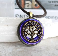 purple tree of life necklace celtic jewelry tree necklace elven jewelry unique gift nature necklace forest jewelry wiccan jewelry