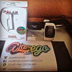Pulsometro Polar M400 entregado en la ciudad de Bucaramanga.   Ideal para running ya que cuenta con GPS que te permite registrar distancia recorrida, velocidad y mas.  Más información --> http://www.alteregostore.co/pulsometros/relojes-polar/reloj-polar-m400-blanco-con-sensor-de-frecuencia-h7/