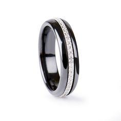 Totum Ring Black Ceramic #LuxenterJoyas #LuxenterSilver