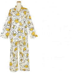 New Japanese Sanrio Cute Kawaii Gudetama Pajamas Last1 Freeshipping | eBay