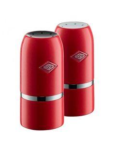 Wesco Salt & Pepper Shaker Set - Red