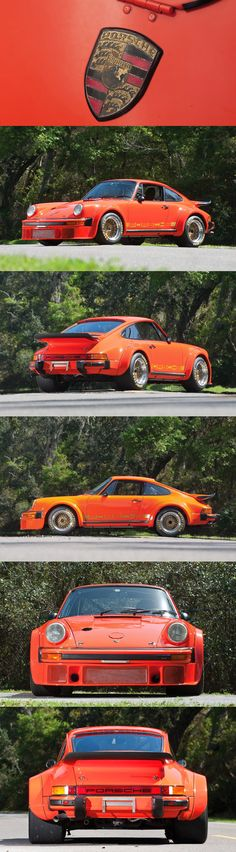1976 Porsche 934 Turbo RSR FIA -- the last of only 31 examples produced. This is like the ultimate sports car, color and all. Porsche 356, Porsche 911 Classic, Porsche Cars, Ferrari, Lamborghini, Peugeot, Ferdinand Porsche, Porsche Cayenne, Volkswagen