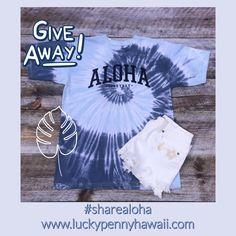 GIVEAWAY-Lucky Penny Hawaii Tie Dye Tee Lucky Penny, Giveaway, Hawaii, Tie Dye, Tees, T Shirts, Hawaiian Islands, Tye Dye, Teas
