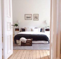 Beautiful Scandinavian style bedroom