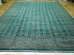 emerald green royal persian rug | 12x15 SIGNED QUALITY Bokhara Rug EMERALD GREEN SILKY | eBay