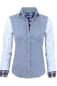 VILAGALLO CONTRASTE GREY Shirt Blouses, Shirts, My Style, Jeans, Sweaters, Jackets, Outfits, Clothes, Women
