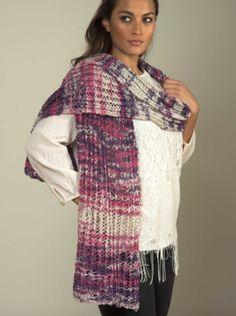Linen Concerto Lace Shawl Free Knitting Pattern