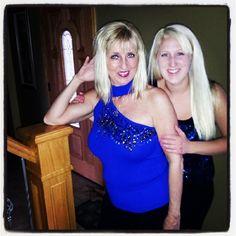 via @sofiamitch #cachemom. I remember that Cache one shoulder top!!