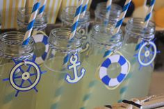 """Photo 5 of 53: Sailor/nautical / Baby Shower/Sip & See """"Sailor Themed Baby Shower"""" 