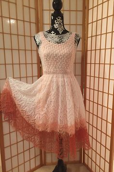 Ravelry: Project Gallery for #21 Lace Dress pattern by Shirley Paden