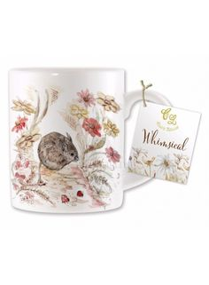 Mouse Design China Mug @ rosefields.co.uk