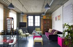 London location apartment in shoreditch, two bedroom penthouse sq ft) in… Uk Location, London Location, London Apartment, Neo Traditional, Industrial Loft, Two Bedroom, House Tours, Minimalist, Contemporary