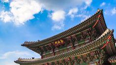 Timelapse: Beautiful South Korea Landscape: