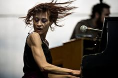 """Fiona Apple was downright magnificent. Her songs were all mood swings — vindictive, sultry, furious, tearful, wry, hopeful, annihilating — and her emotions could shift and strike from phrase to phrase, in her improvisatory singing and in her band arrangements. She rasped; she cooed; she played warbly old-time pop soprano."" — Jon Pareles, ArtsBeat, 6-25-12 