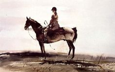 Andrew Wyeth - Master of the Fox Hounds