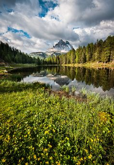 Tre Cime (Dolomites, Italy) by p.dave