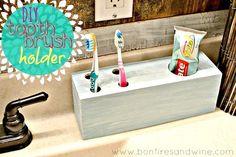 DIY Furniture : DIY Toothbrush Holder