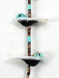 Navajo Heishi Fetish Necklace by Hector Goodluck