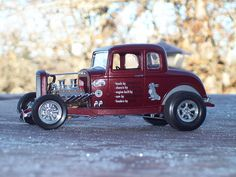 Gallery Pictures - 1932 Ford 5 Window Coupe -- Plastic Model Car Kit -- 1/25 Scale -- #854228