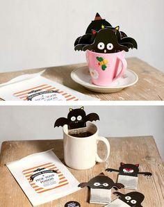 Spooky Halloween Tea Bags