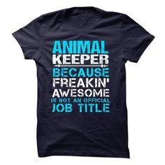 ANIMAL KEEPER T SHIRT