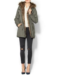 Piperlime Collection Fur Anorak $189