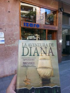 LA aventura de Diana ya esta a la venta en libreria sde toda España. Pidesela a tu librero