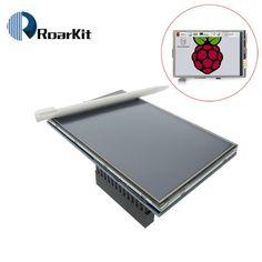 Livraison gratuite! LCD module Pi TFT 3.5 pouce (320*480) Écran tactile TFT de Module pour Raspberry Pi 3 Raspberry Pi, Display, Free Shipping, Lcd, Floor Space, Billboard