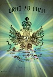 """One of the Latin motto's of the Scottish Rite NMJ. Stands for; """"Order out of Chaos"""""""