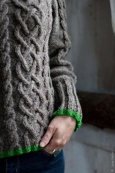touch of green:  Twist