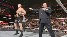 Randy Orton vs. Brock Lesnar: Fotos