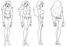 FIRE turnaround from JLU by StephenBJones on deviantART