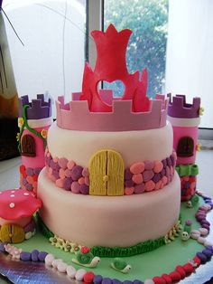 Fairytale themed cake