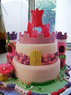 Fairytale themed cake