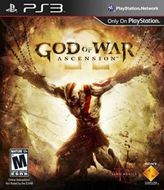 Hot New Release! God of War: Ascension - BEFORE HE WAS A GOD, HE WAS A MAN. Vengeance is born in the fires of betrayal in this prequel to the best-selling God of War franchise. Six months have passed since Kratos stood over the bodies of his wife Playstation 2, Xbox 360, Arcade, God Of War Game, Ps3 Games, Box Art, Cool Things To Buy, Video Games, Entertaining