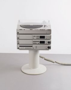 Dieter Rams and Peter Hartwein; 'Atelier Last Edition' HiFi System for Braun, 1984-89.