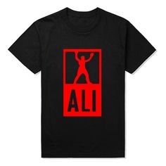 summer outfits men Fashion Muhammad ALI Kin Of Fighter T Shirts Men Hip Hop T-shirt Casual Top Tee Fitness Skate Swag Letter Printed Funny Tops ** AliExpress Affiliate's buyable pin. Details on product can be viewed on www.aliexpress.com by clicking the VISIT button